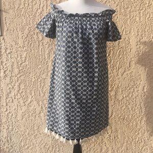 Chelsea28 Off Shoulder A Line Dress